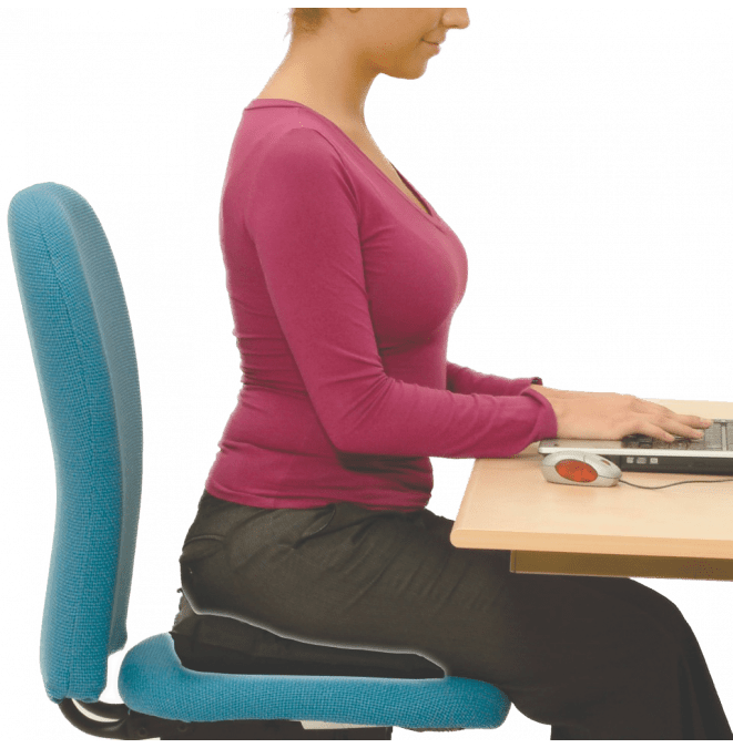 While you work from home use your Back Vitalizer to stay comfortable & healthy